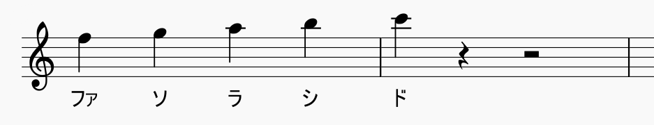 音階 ト 音 記号